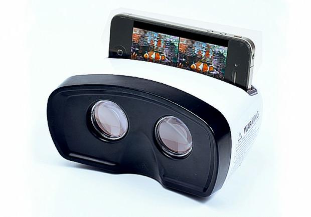 Visor 3D para iPhone