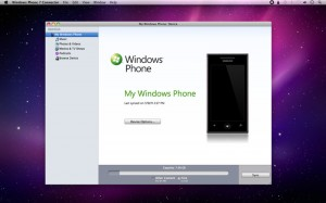 Windows Phone 7 Connector para Mac