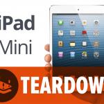 El desmontaje del iPad mini nos revela algunos detalles interesantes
