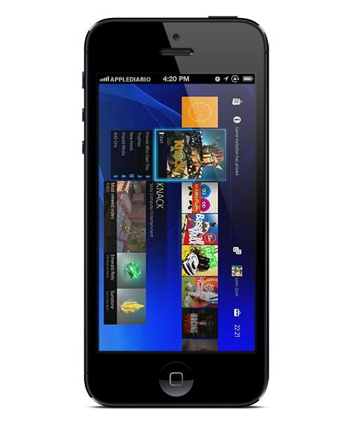 iPhone-5-PlayStation-4-App