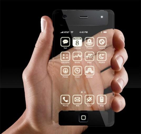 Polytron technologies lanza smartphone transparente está cerca el