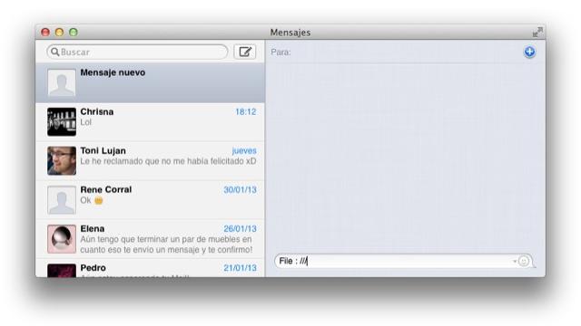 Cómo agregar Facebook Chat a la aplicación de Mensajes de Mac OS X ...