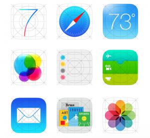 Nuevos iconos iOS 7