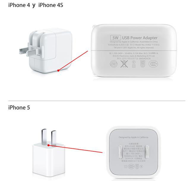 Cargadores para iPhone