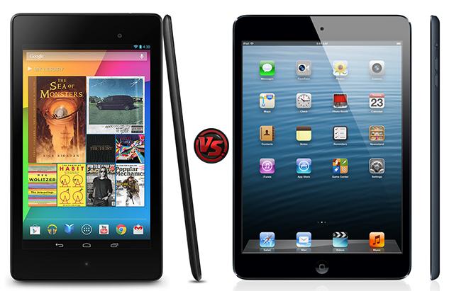 Comparativa Nexus 7 II vs iPad mini