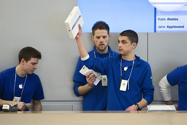 Empleados Apple Store