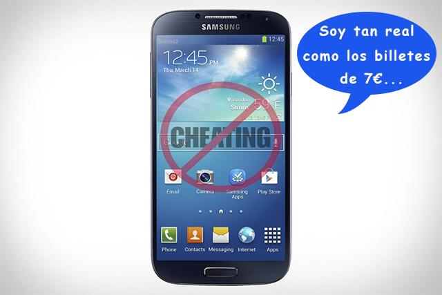 Galaxy S 4 trucado