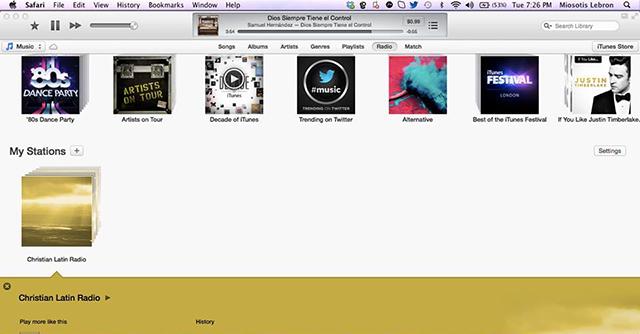 iTunes 11.1 beta