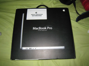 Macbook restaurado