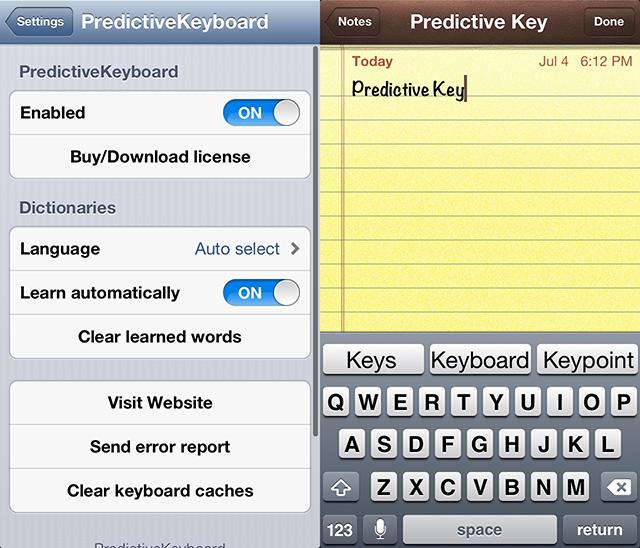 predictivekeyboard