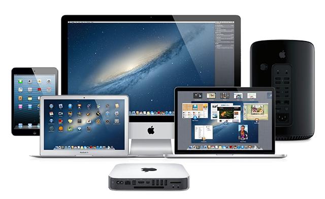 Apple PC lineup 2013