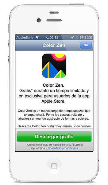 Contenido Gratis en Apple Store