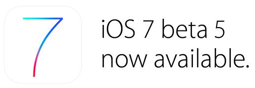 iOS-7-beta-5-available