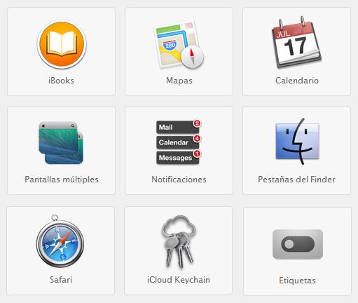 Novedades en OS X Mavericks