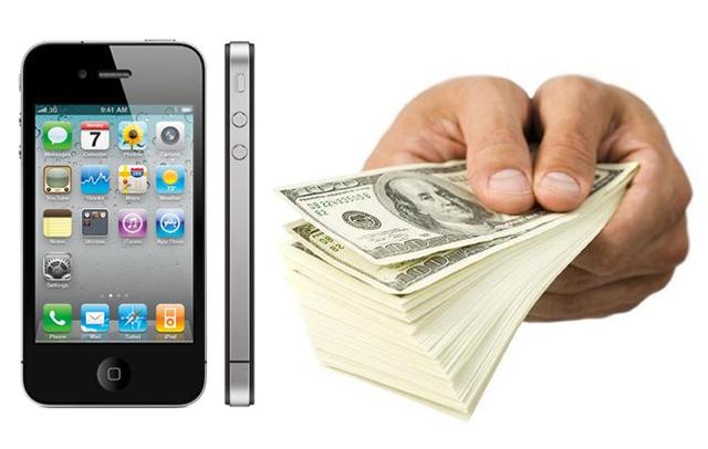 Precio de reventa del iPhone 4