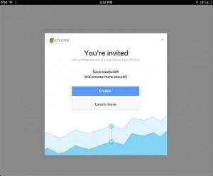 Compresión de datos en Chrome
