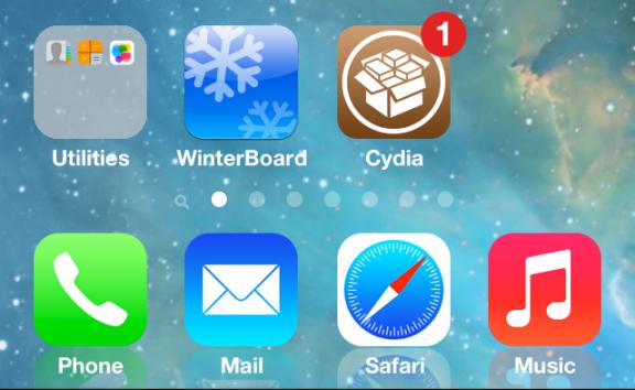 iOS 7 jailbroken