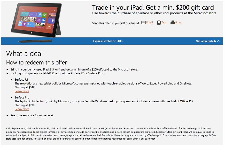 Programa de intercambio de iPads