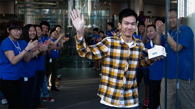iPhone 5S en China