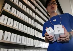 Venta del iPhone en China