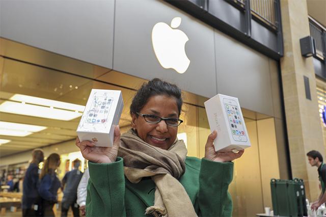Comprando iPhone 5S