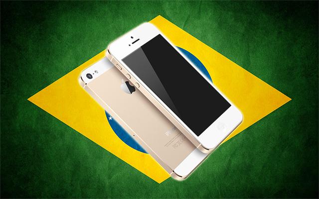 Nuevo iPhone 5S en Brasil