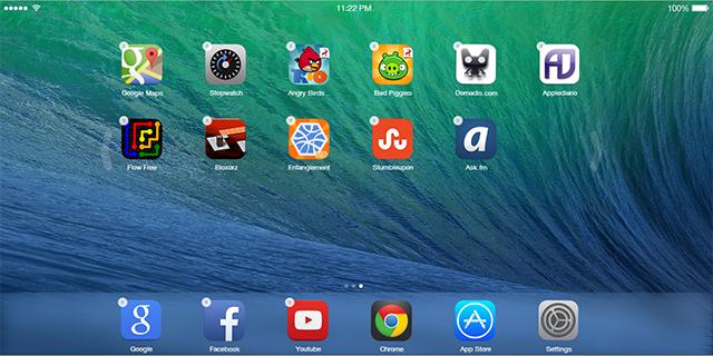 iOS7-Home-modo-edicion