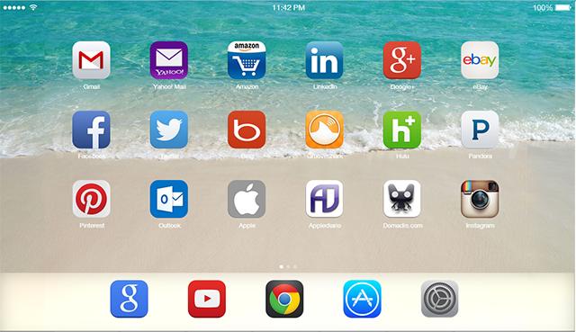 iOS 7 Home