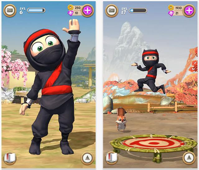 juego-clumsy-ninja-iphone