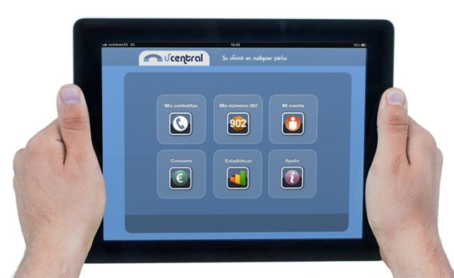 Vcentral en el iPad