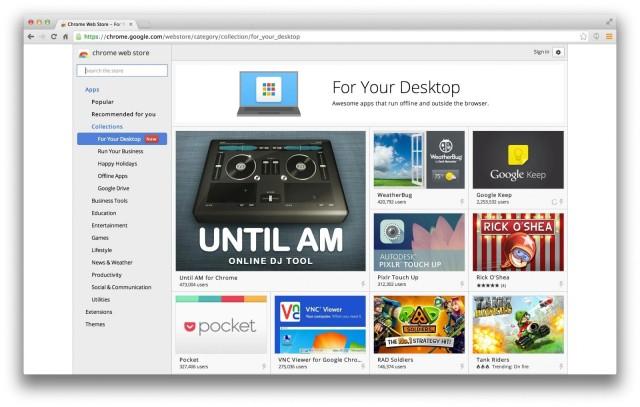Chrome Apps para Mac
