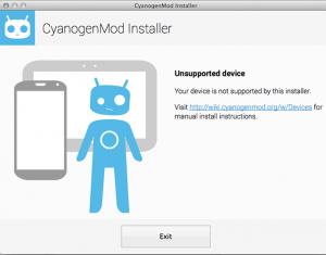 CyanogenMod Installer para Mac