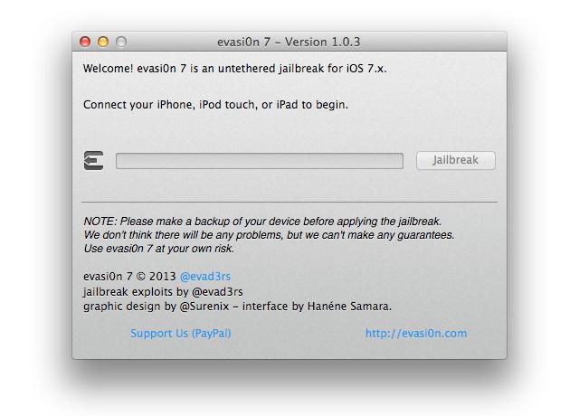 evasi0n7 v1.0.3