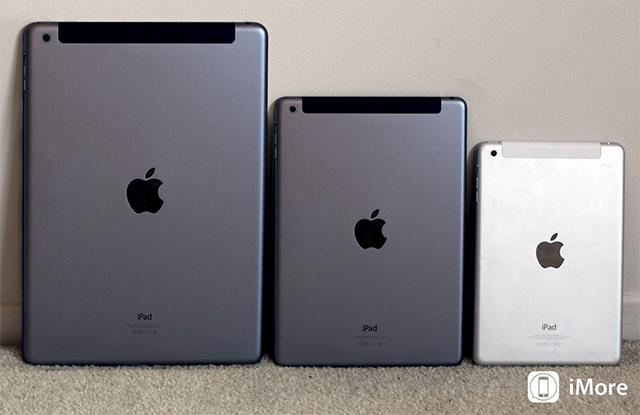 Lineup de iPads