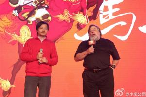 Steve Wozniak y Lei Jun