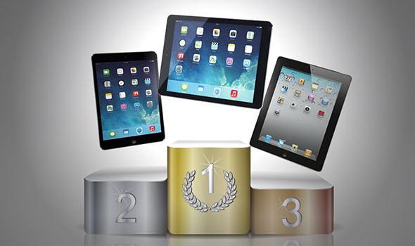 Comparativa iPads