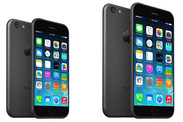Comparativa iPhone 6 vs iPhone 5S