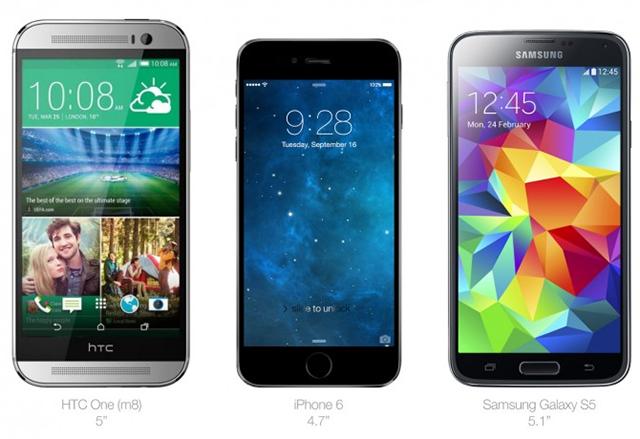 iphone6-vs-gs5-vs-htc-one