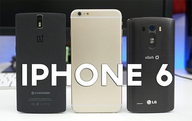 Comparativa iPhone 6