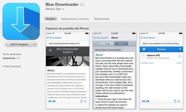 blue-downloader-app-store