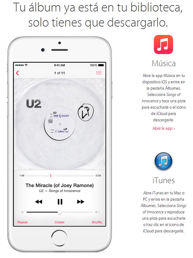 como-descargar-album-u2-ios