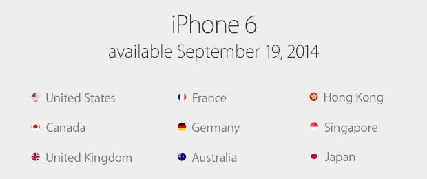 lanzamiento-paises-iphone6