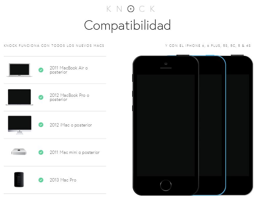 compatibilidad-knock