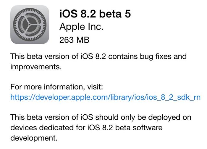iOS-8.20beta5