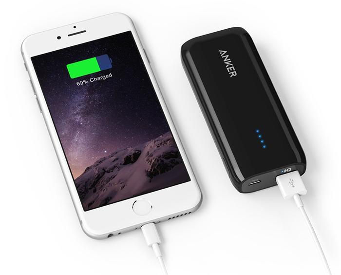 Mant�n tu iPhone siempre cargado con las bater�as externas de Anker [sorteo]