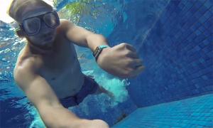 Apple Watch bajo el agua