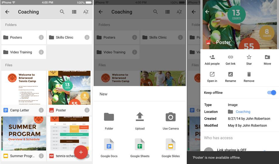 google-drive-material-design-ios