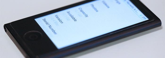 Apple lanza actualización de software para el iPod nano