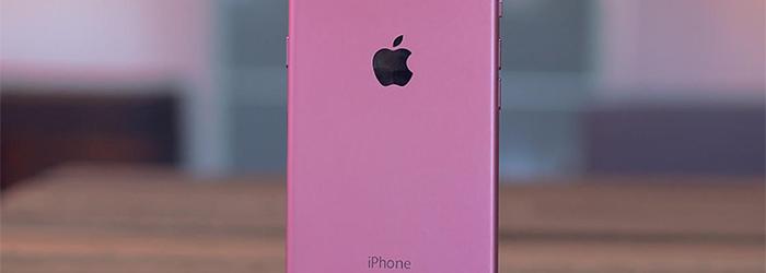 ¿Lanzará Apple un iPhone 6s de color rosa?