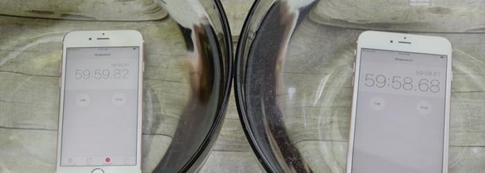 El iPhone 6S y iPhone 6S Plus resisten muy bien el agua